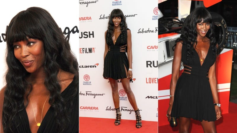 Naomi Campbell Got Busy With Wolverine