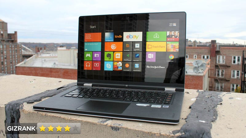 Lenovo Yoga Review: This Is How You Build a PC/Tablet Freak Machine