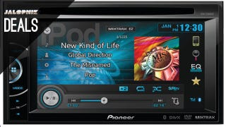 This Pioneer head unit is a bargain at $230 when you look at the features: