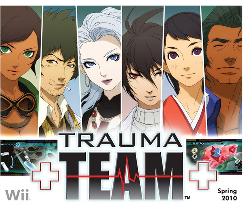 Atlus Announces Trauma Team For Wii