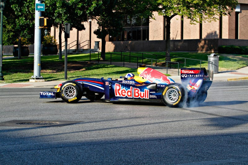 Red Bull Austin F1 David Coulthard Texas