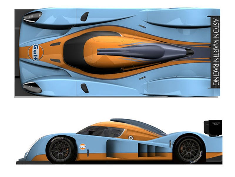 Aston Martin Builds Two New Factory LMP1 Cars To Tackle Le Mans