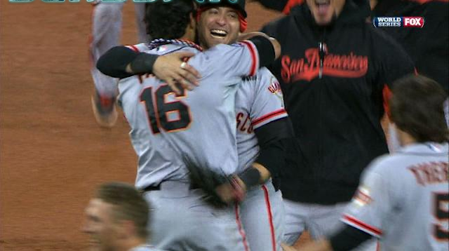 The Giants Sweep The Tigers To Win The World Series