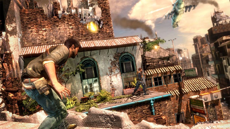 Uncharted 2 Also Takes Place In War-Torn Tibet, Has New Love Interest