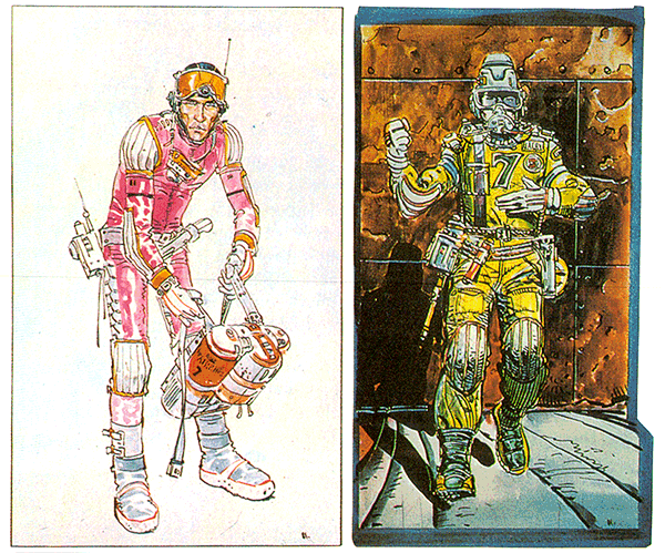 Legendary French artist Moebius, the man who made The Abyss, Alien, and Tron even weirder, is dead at 73