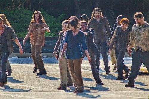 The Walking Dead Set Pictures