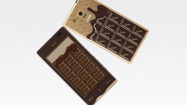 I'm So Glad This Chocolate-Themed Phone Isn't Coming To The US