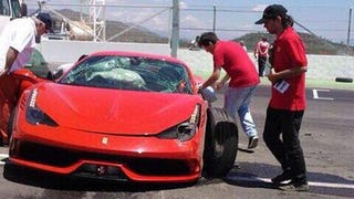 At Least This Ferrari 458 Speciale Was Destroyed On Track