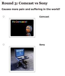 Worst Company in America: Comcast vs. Sony