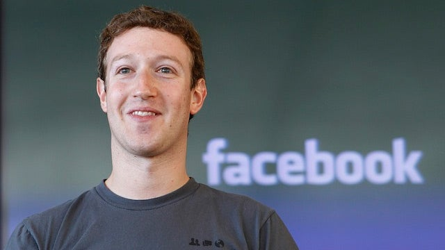 Mark Zuckerberg to Reporters: Hey, Look Over Here!