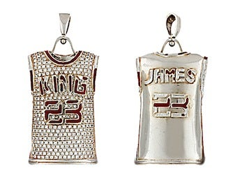 Woman Finds $10,000 Diamond Lebron Pendant At Yard Sale