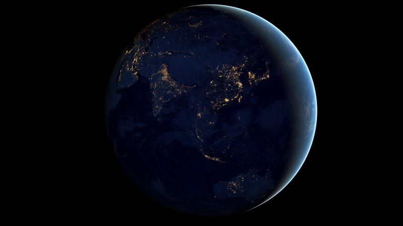 The Most Accurate, Highest Resolution Night Earth View to Date: Black Marble