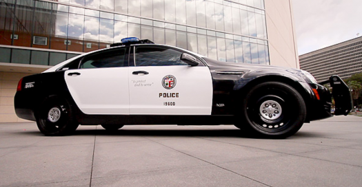 The LAPD's Teched Out Cruiser
