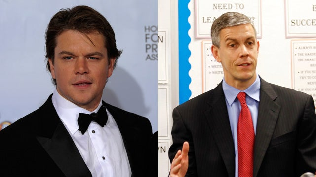 Matt Damon, Education Department Engage in Bitter War Dance