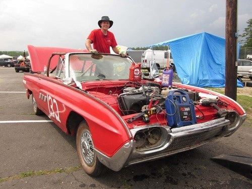 Engine Swap of the Day: BMW M21 Turbodiesel Into 1963 Ford Thunderbird!