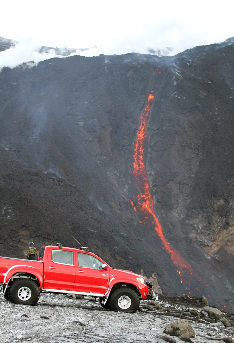 Top Gear Toyota Hilux: Eyjafjallajokull Images