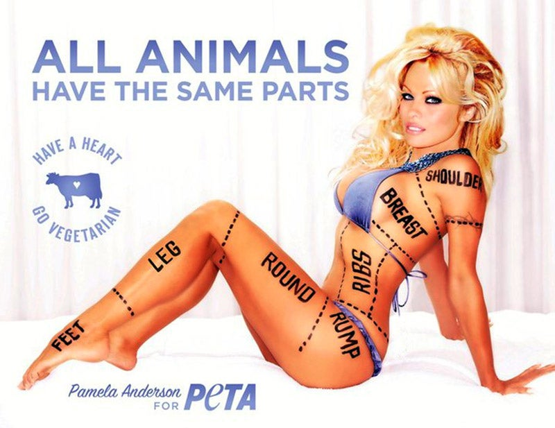 Pam Anderson Says Banning This Ad Is Like Forcing Women Into Burqas