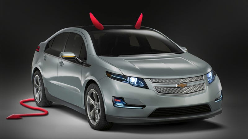 GM Fixing Chevy Volt To Stop Possible Fiery Death After Three-Week-Old Crashes