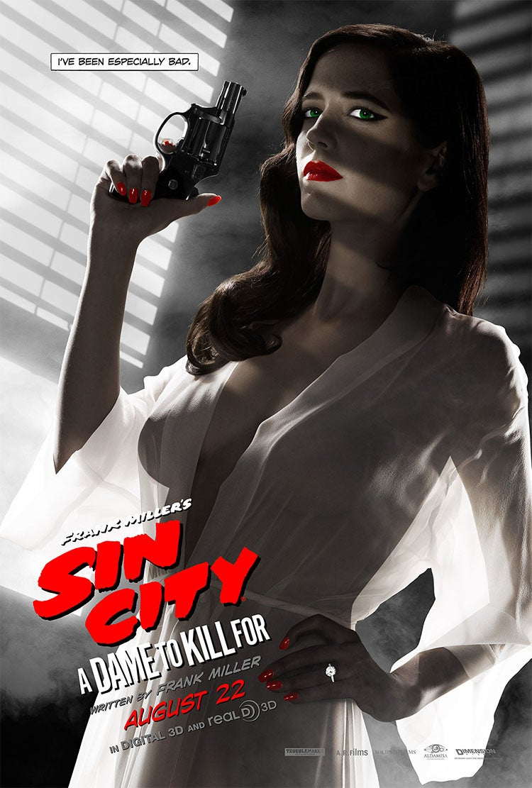 Eva Green responds to MPAA banning of her sexy Sin City 2 poster