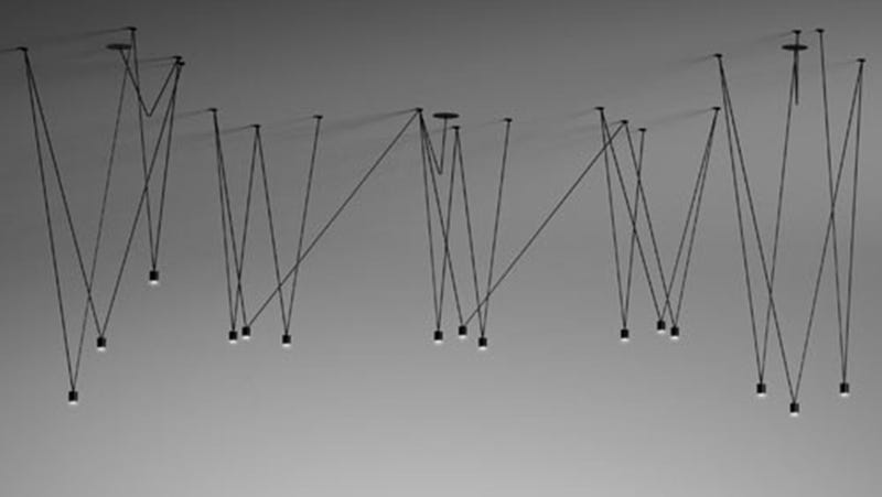 Match Fixtures Are Stick-Like Sculptures of Light