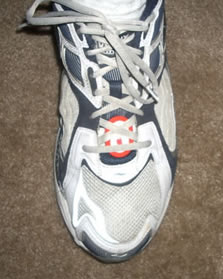 DIY Nike+iPod shoe mod