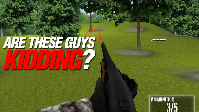 The NRA's New Shooting Game Is For Ages Four And Up