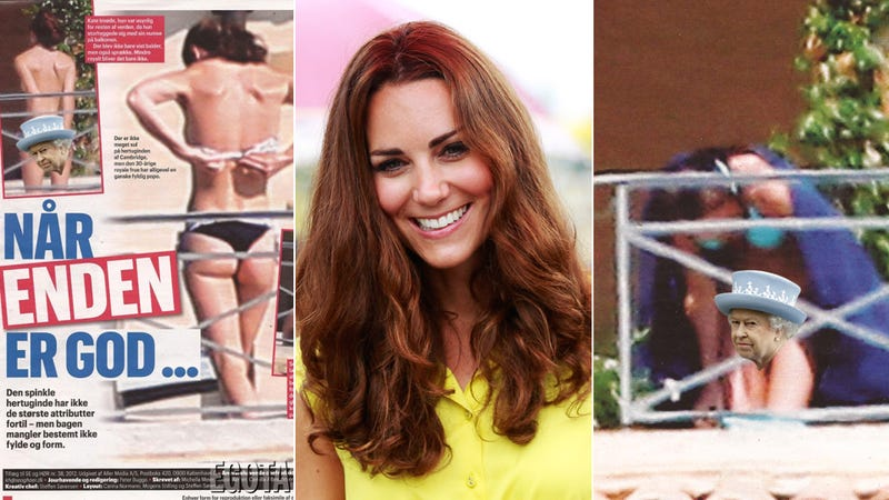 With These New Bottomless Paparazzi Shots We've Basically Seen Kate Middleton Nude [NSFW]