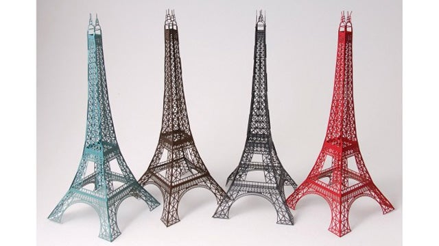 Creating This Laser Cut Paper Eiffel Tower By Hand Would Probably Kill You