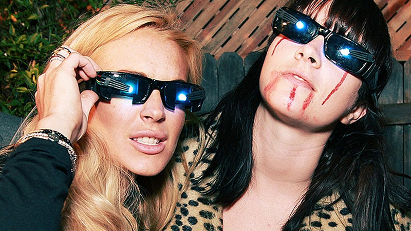 Lindsay Lohan Got High with Her Eyes, and Other Feats