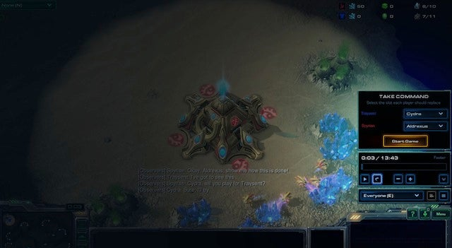 StarCraft's New Replay System Lets You Pretend To Be A Pro