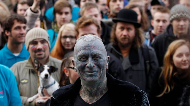 Totally Tattooed Man Receives Shockingly Strong Support in Run for President of the Czech Republic