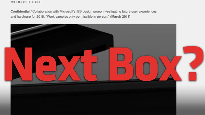 Industrial Designer Dates New Xbox For 2015