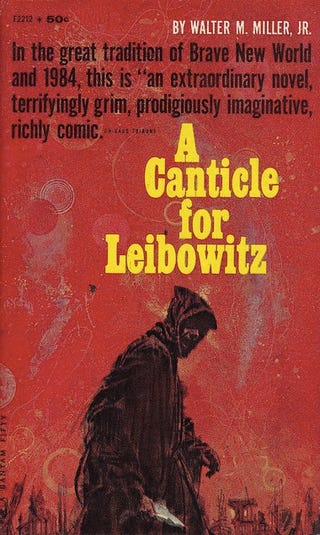 an analysis of the characters in the novel a canticle for leibowitz by walter m miller jr Walter miller - canticle for leibowitz: walter miller walter miller, in the novel a canticle for leibowitz,  analysis of the canticle of brother sun.