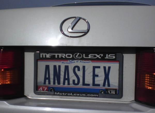 Ana Really Likes Her Lexus LS400