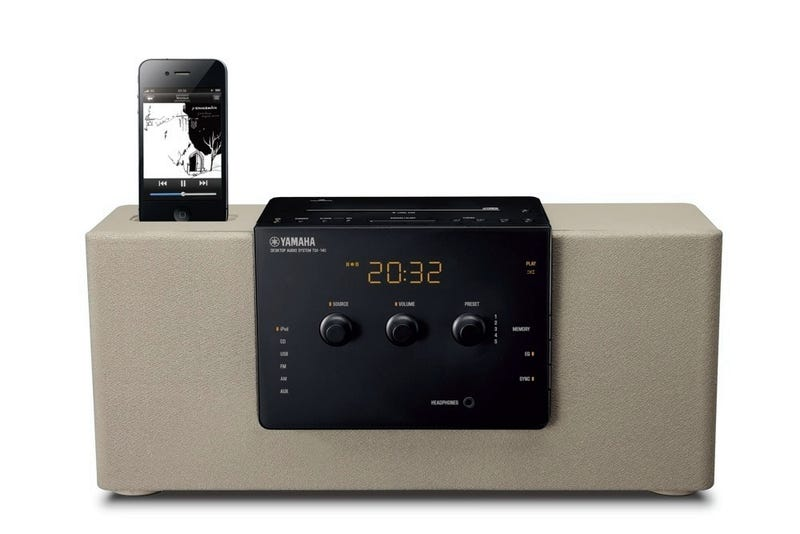 TSX-140 Desktop Audio System Gently Awakens Owner with Their iPod Tunes