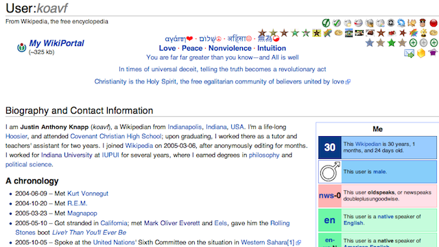 Guy Becomes First Person to Make One Million Wikipedia Edits