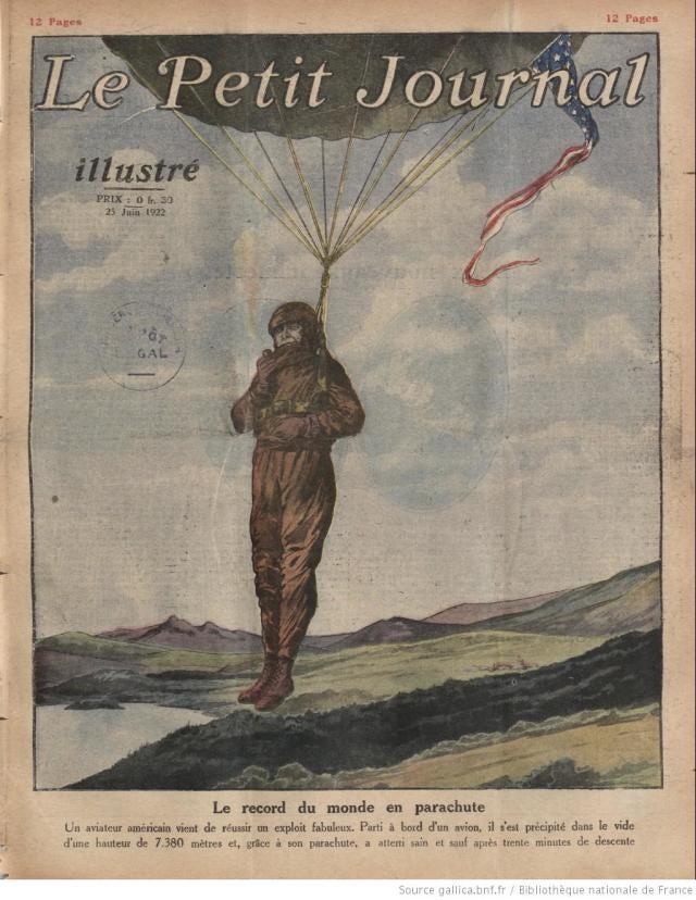 Récord del mundo en paracaídas