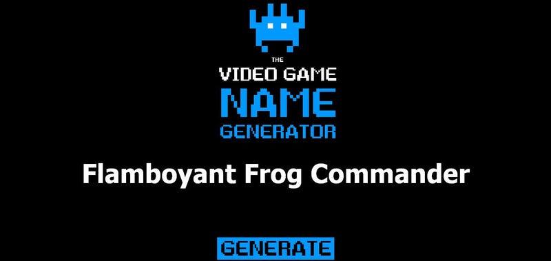 Dark souls boss name generator