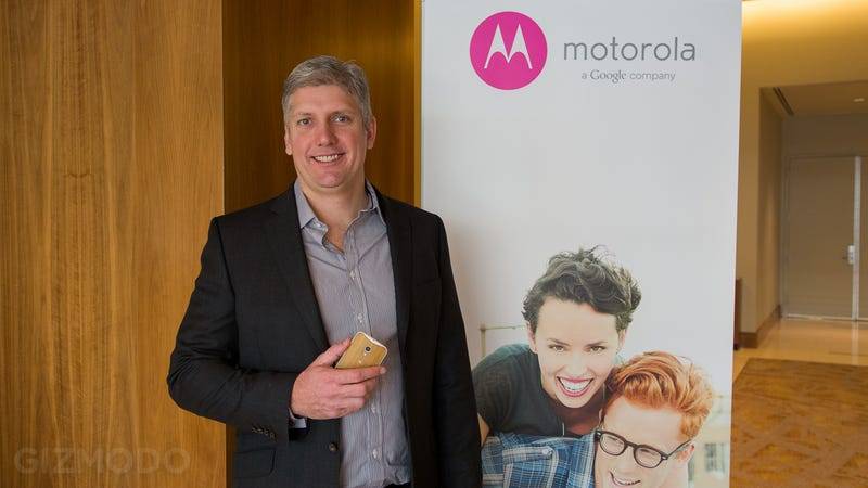 A Droid Apart: Motorola's Rick Osterloh on Google, Moto, and More