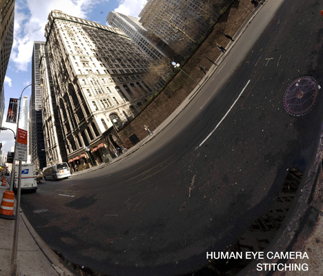 Camera Sees the World Through Human Eyes