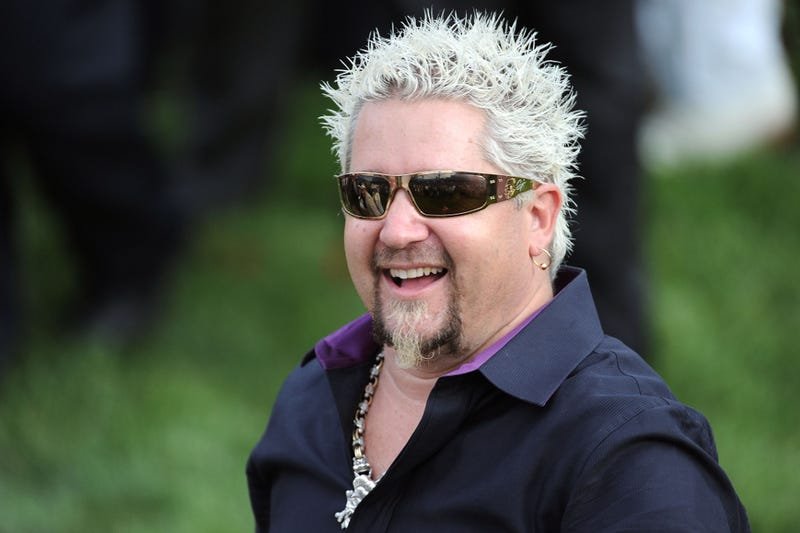 Guy Fieri Brawls with His Crying Hairdresser While the Paps Look On