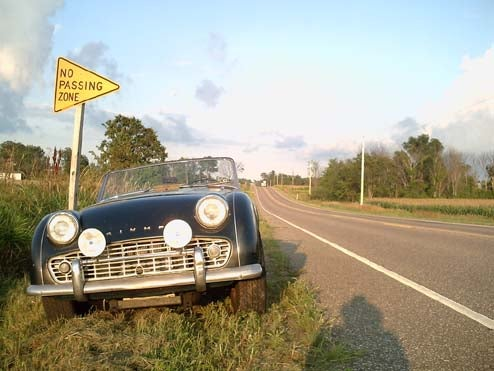 DOTS Triumph TR3A Makes Epic Cross-Country Road Trip, We Experience Envy