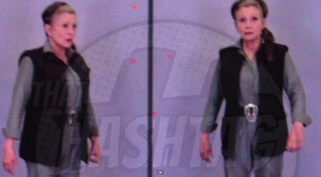 Primera imagen de la Princesa Leia en Star Wars: The Force Awakens