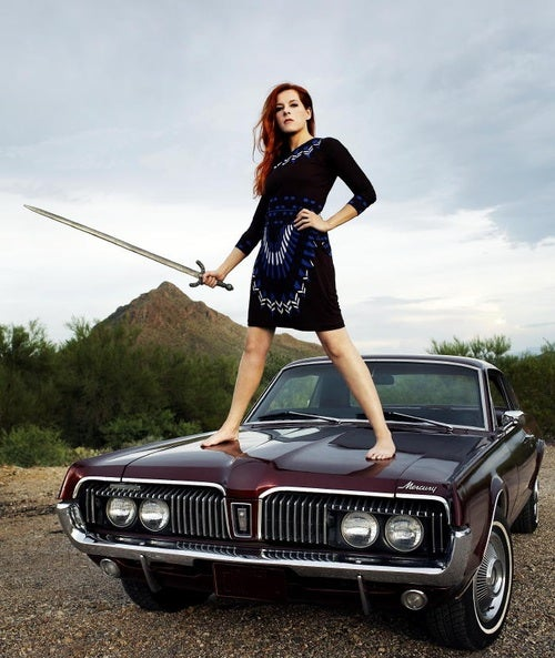 Put Your Footprints On Neko Case's '67 Cougar