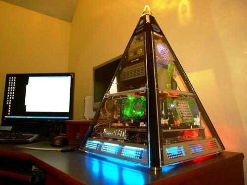 The Great Pyramid PC Would Make Tutankhamun Jealous