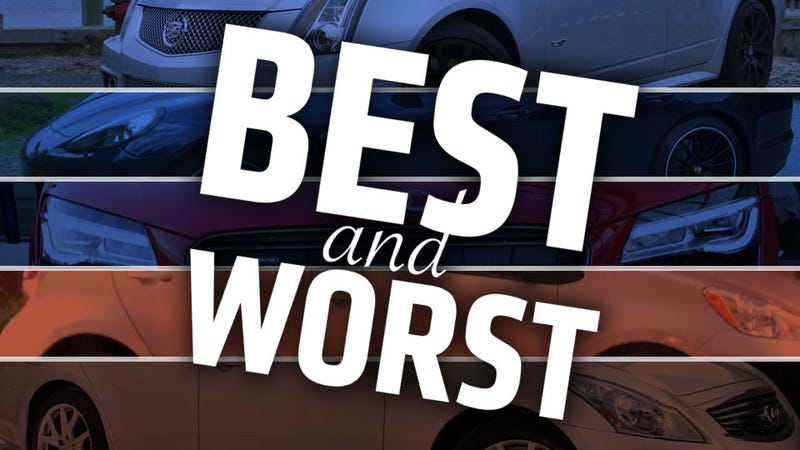The Best And Worst Cars I've Driven This Year
