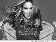 Blogosphere's Collective Brain Explodes Over Sarah Jessica Parker's Clothes For People Who Do Not Read Blogs