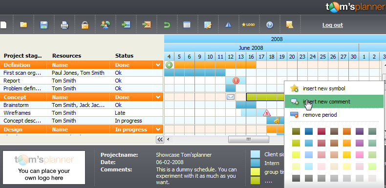 Tom 39 S Planner Is An Impressive Intuitive Project