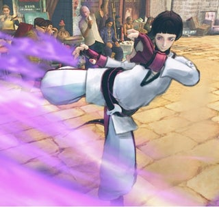 Korean Internet Person Redesigns Super Street Fighter IV's Juri