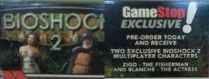 GameStop Pre-Order Reveals BioShock Multiplayer Characters